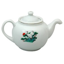 Pine Tree and Crane Teapot