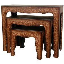 Olde-Worlde 3 Piece Nesting Tables