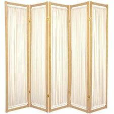 """72"""" x 70"""" Helsinki Shoji 5 Panel Room Divider"""