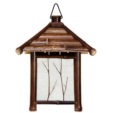 Japanese Pagoda 1 Light Lantern