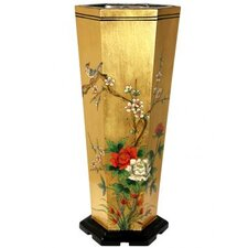 Gold Leaf Umbrella Stand