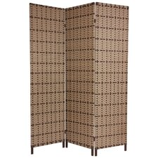 "71"" x 48"" Tropical 3 Panel Room Divider"