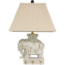<strong>Oriental Furniture</strong> Elephant Decorative Table Lamp