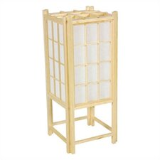 <strong>Oriental Furniture</strong> Window Pane Shoji Table Lamp