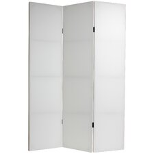 "70.88"" Do It Yourself Canvas 3 Panel Room Divider"