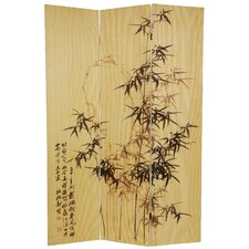 871500Tall Frameless Natural Bamboo Design Screen