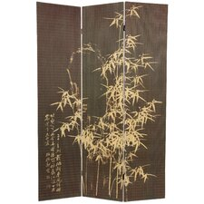 "<strong>Oriental Furniture</strong> 70.25"" x 46.25"" Frameless Design 3 Panel Room Divider"