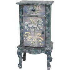 <strong>Oriental Furniture</strong> Rustic End Table