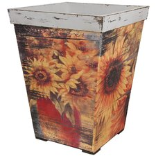 Rustic Sunflowers Planter