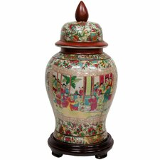Temple Decorative Jar