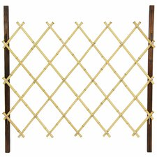 Diamond Bamboo Fence