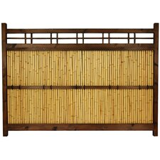 <strong>Oriental Furniture</strong> Japanese Bamboo 4' x 5' Kumo Fence