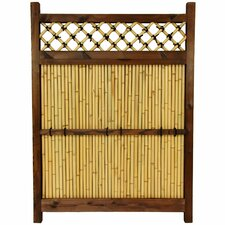 Japanese 4' x 3' Zen Garden Fence