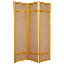 "72"" Jute Shoji Screen in Honey"