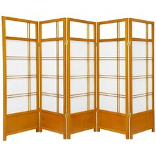 Low Kumo Classic Shoji Room Divider in Honey