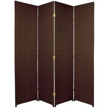 "70.75"" x 70"" 4 Panel Room Divider"