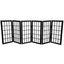 "26"" Shoji Window Pane Room Divider"