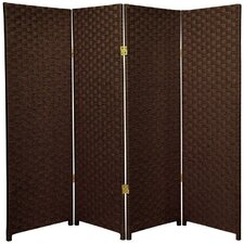 "<strong>Oriental Furniture</strong> 48"" x 52"" 4 Panel Room Divider"