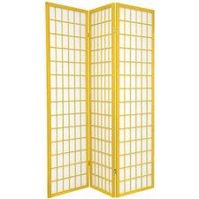 "70"" x 42"" Window Pane 3 Panel Room Divider"