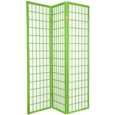 "70"" Window Pane Room Divider"