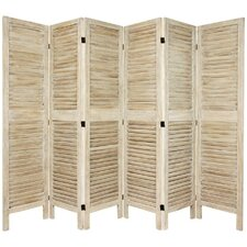 "67"" Tall Classic Venetian 6 Panel Room Divider"