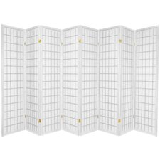 Window Pane Shoji 8 Panel Screen