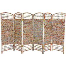 "<strong>Oriental Furniture</strong> 47.75"" x 94.5"" 6 Panel Room Divider"