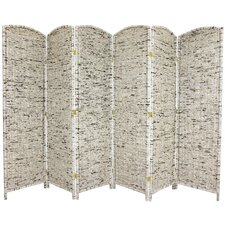 "<strong>Oriental Furniture</strong> 71.5"" x 118.5"" 6 Panel Room Divider"
