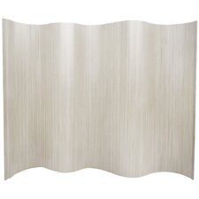 "<strong>Oriental Furniture</strong> 72.25"" x 98"" Bamboo Tree Tall Wave Room Divider"