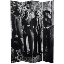 Tall Double Sided The Beatles Final Photo Shoot Canvas Room Divider
