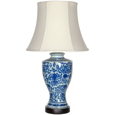"""Victorian Design 28"""" H Table Lamp with Bell Shade"""