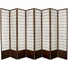 "83.5"" x 112"" Window Tall Pane Shoji 8 Room Divider"