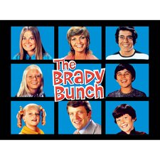 Brady Bunch Graphic Art on Canvas