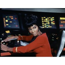 Star Trek Lieutenant Nyota Uhura Photographic Print on Canvas