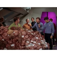 Star Trek The Trouble with Tribbles Photographic Print on Canvas