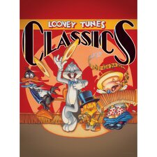 Bugs, Daffy, Tweety, and Elmer Looney Tunes Classics Canvas Art