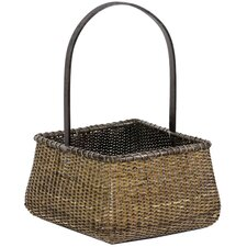 <strong>Oriental Furniture</strong> Rattan Baskets (Set of 3)