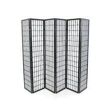 "72"" x 102"" Window Pane 6 Panel Room Divider"