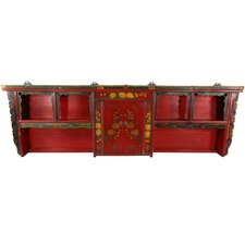 Chinese Hand Painted Display Shelf