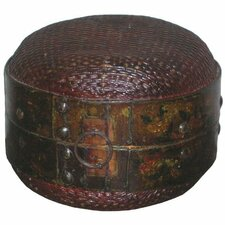 <strong>Oriental Furniture</strong> Antique Basket