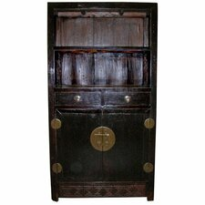 <strong>Oriental Furniture</strong> 2 Drawer Tall Cabinet