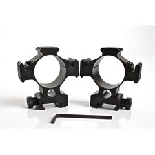 Scope Ring Mount Set for 35mm with Picatinny Rails