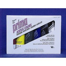 Prima Acrylic 6 Tube Starter Set