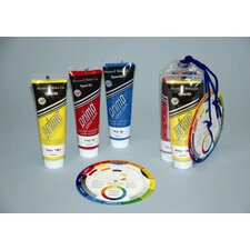 Prima Acrylic - Three 118 ml Tubes - Primary Colors