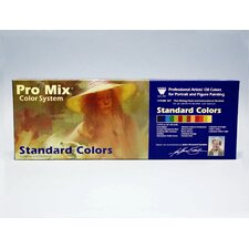 <strong>Weber Art</strong> JOHN SANDEN PRO MIX STANDARD COLOR OIL COLOR SET