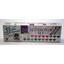 SCHEEWE 20 TUBE WATERCOLOR SET