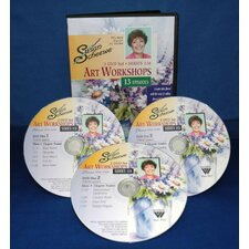 SCHEEWE ART ACRYLIC WORKSHOP 3 DVD SET SERIES 11B--13 EPISODES