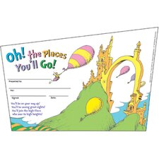 <strong>Eureka!</strong> Seuss-oh The Places Youll Go