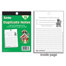 <strong>Eureka!</strong> School Supplies Duplicate Notes