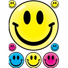 Window Cling Smile Faces 12 X 17